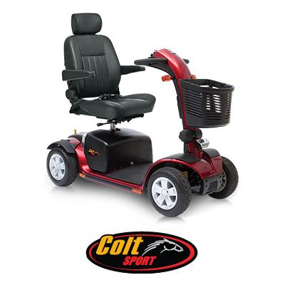 Pride colt sport mobility scooter mobility scooters for sale for Mobility scooters for sale