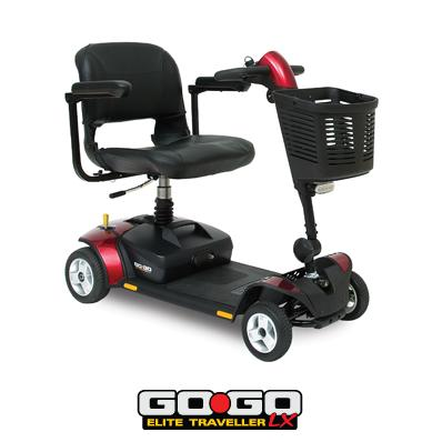 Pride gogo elite traveller lx mobility scooter mobility for Mobility scooters for sale