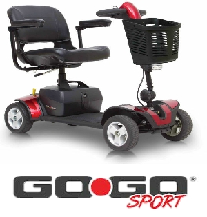 Pride gogo sport mobility scooter mobility scooters for sale for Mobility scooters for sale
